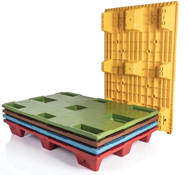 Pallet encajable REP 1200x800 liso 9 pies - Personalización   Ribawood