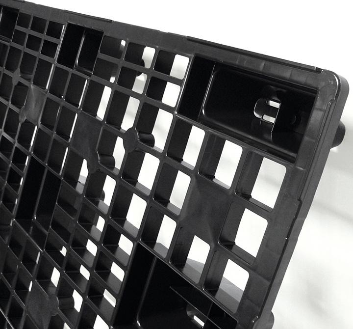 REP Pallet 1200x800 9F OPEN DECK black deck nestable_Ribawood