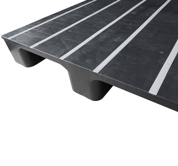 RMP  2 o 3R closed deck anthracite antislip