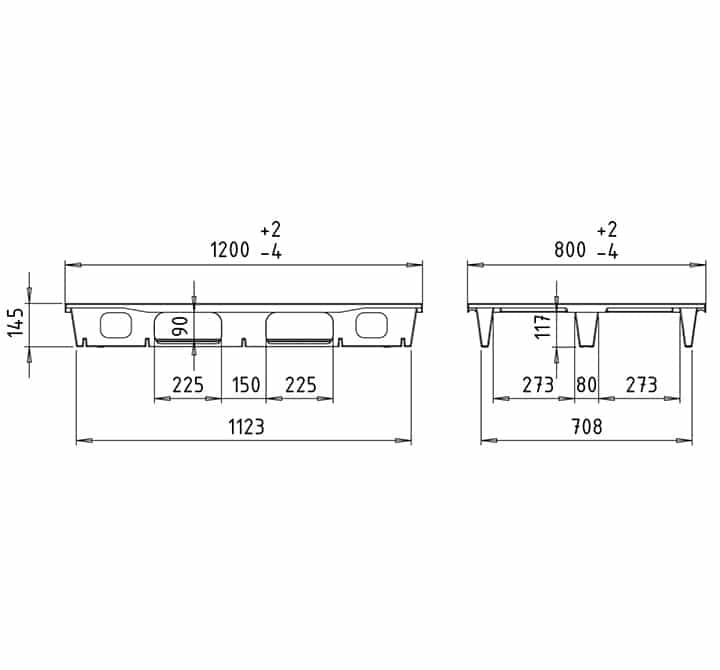 RUP 1200x800 3R OPEN DECK drawing
