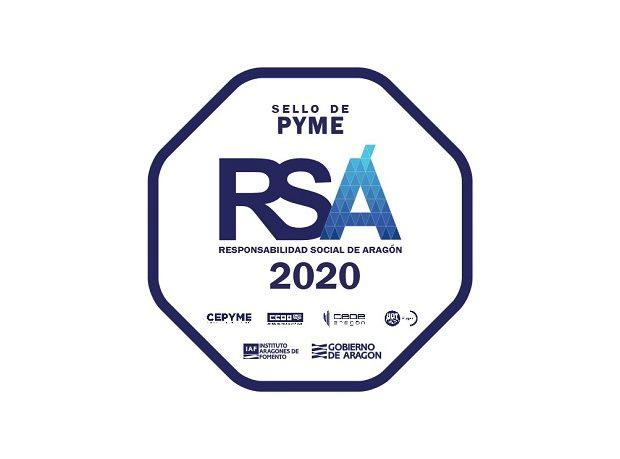 Sello Certificado RSA-Responsabilidad Social de Aragón_Ribawood